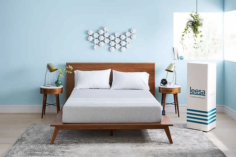 Leesa premium quality foam layers mattress