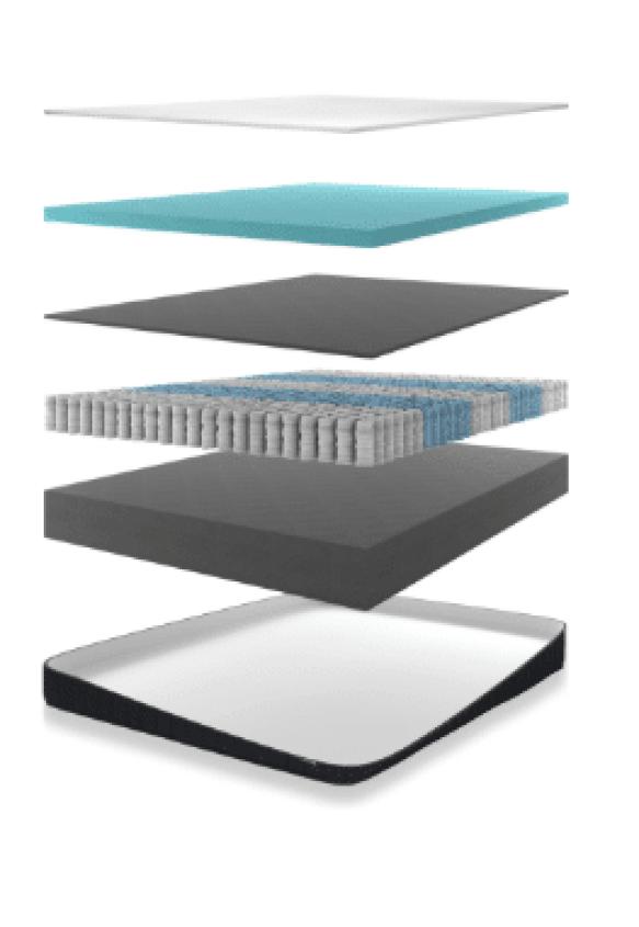 Nest Alexander mattresses with Hybrid luxury contour