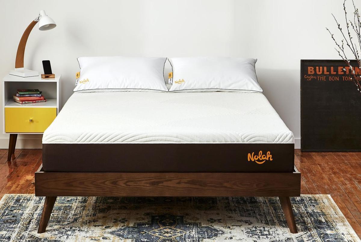 Nolah therapeutic capabilities back support mattress