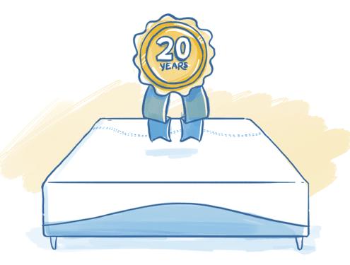 warranty and sleep Trial of AmeriSleep memory foam mattress