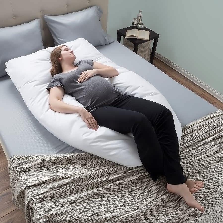 Bluestone Full Body Pregnancy Maternity Pillow