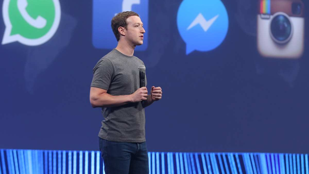 CEO of Facebook Mark Zuckerberg