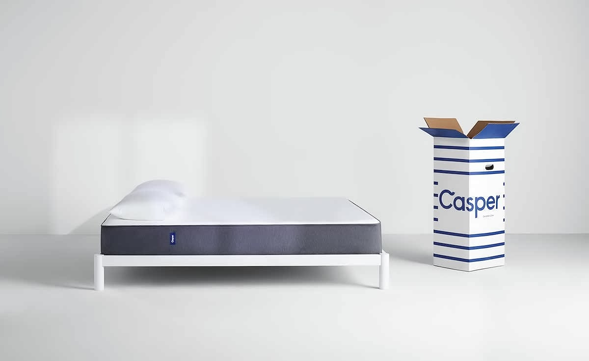Casper sleep mattress breathable unique memory foam