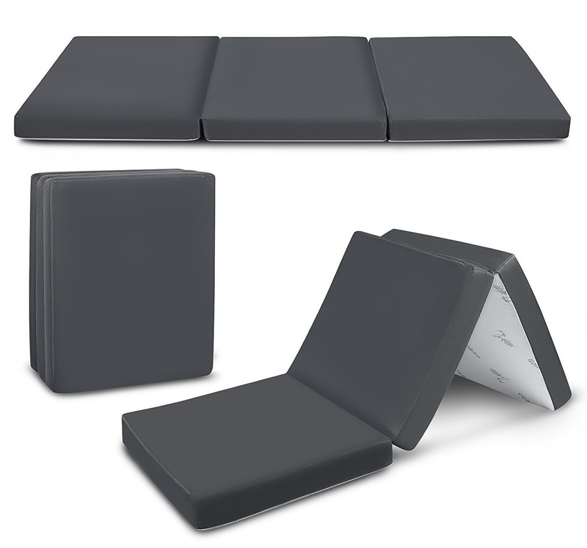 Cozzzi Trifold Foam Folding Mattress