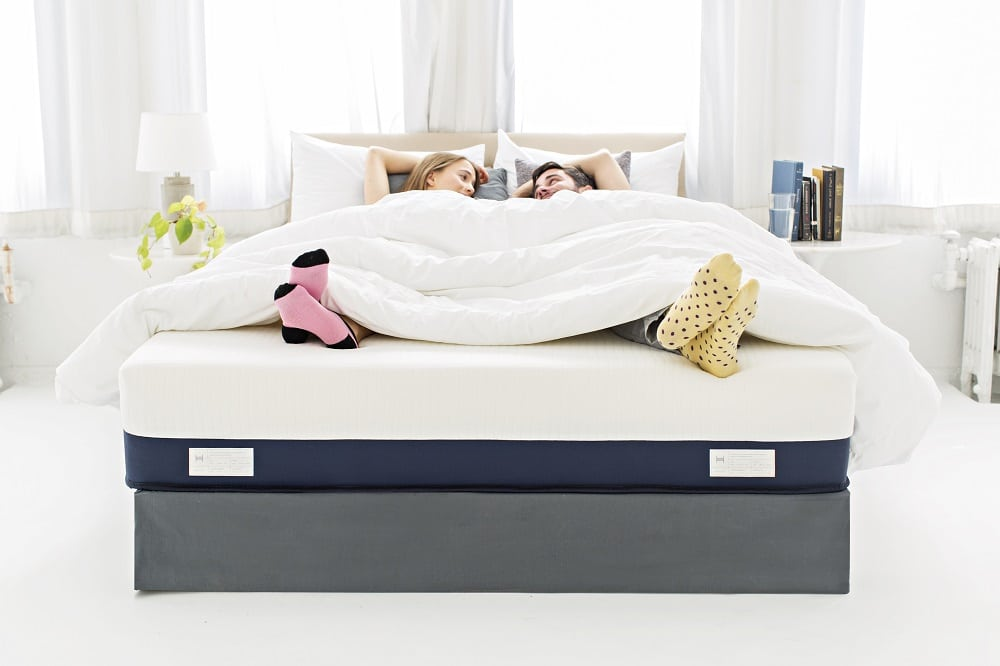 Helix central support Mattress