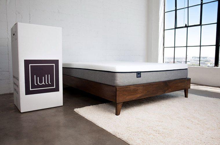 Lull memory foam mattress