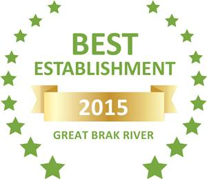 Sleeping-OUT's Guest Satisfaction Award Great Brak River 2015