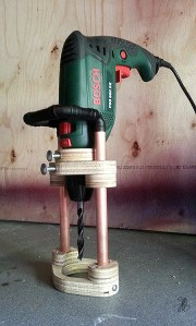 Homemade Drill Guide