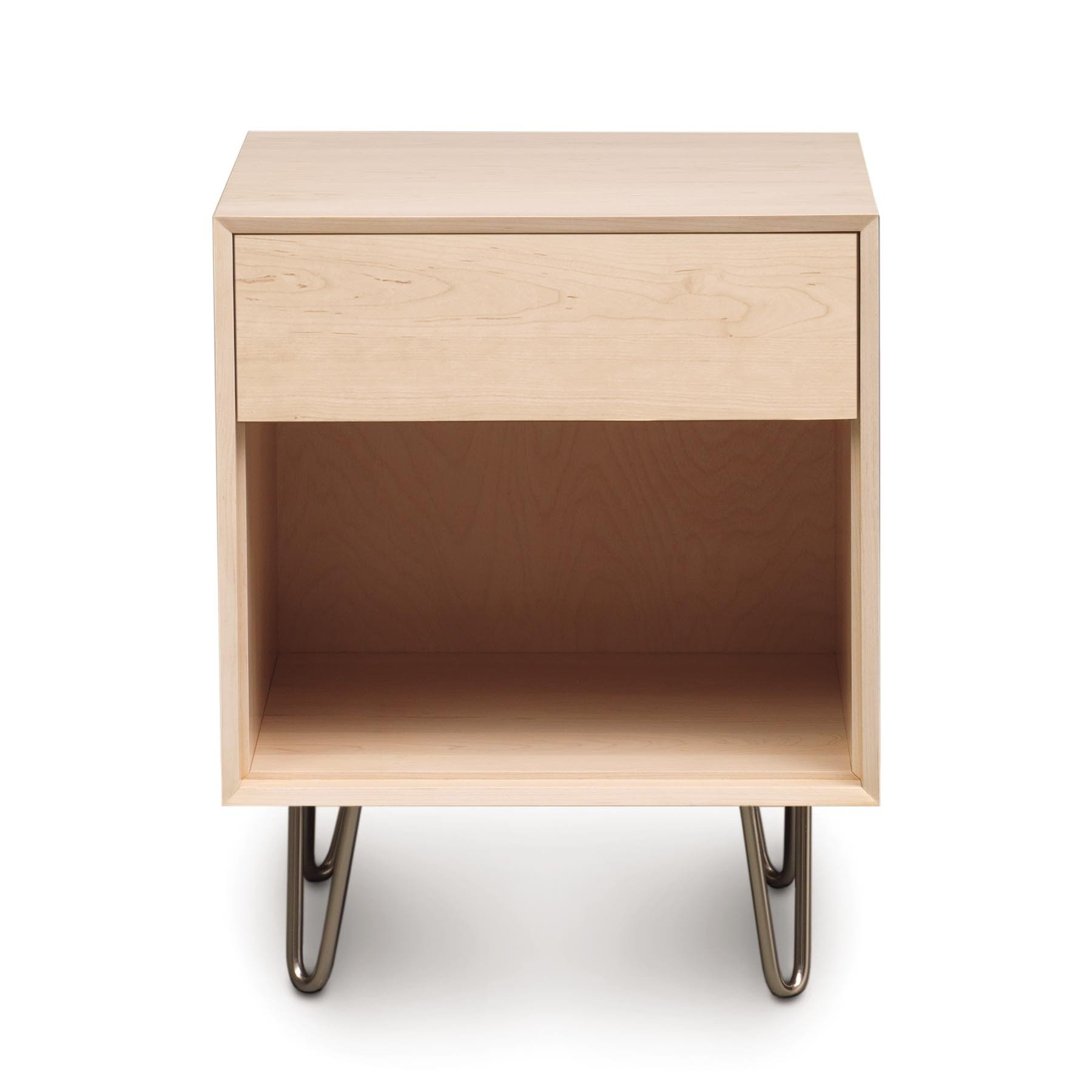 Canvas 1 Drawer With Push To Open Drawers And Metal Legs