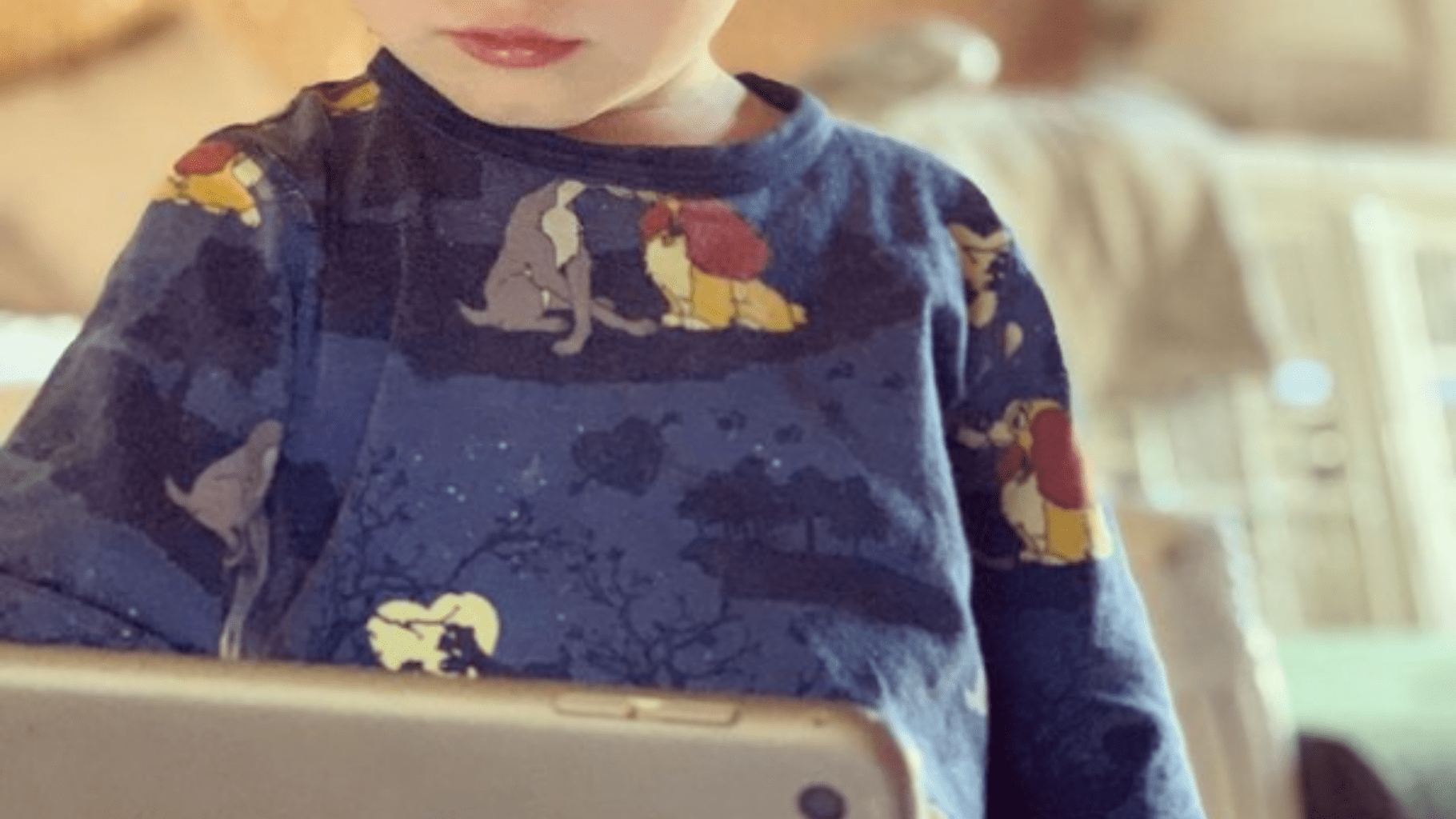 screen time & sleep for toddlers