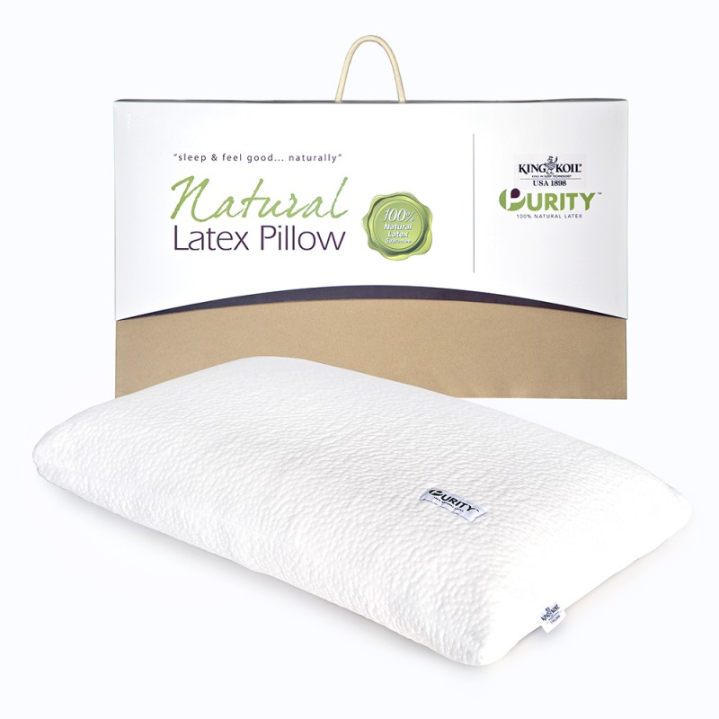 king koil purity latex pillows