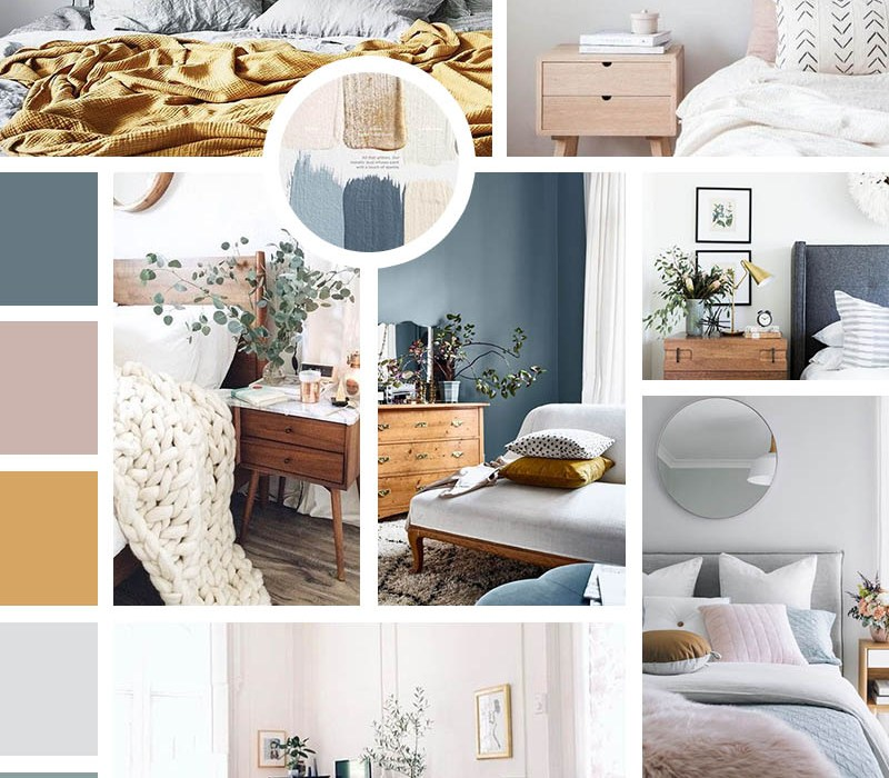 moodboard bedroom