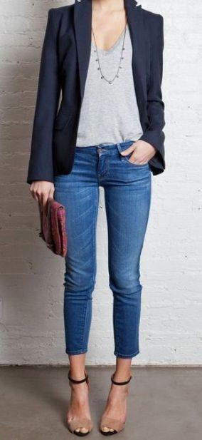 Avec un jeans