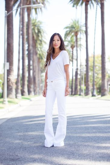 Le jeans flare d'Amee Song
