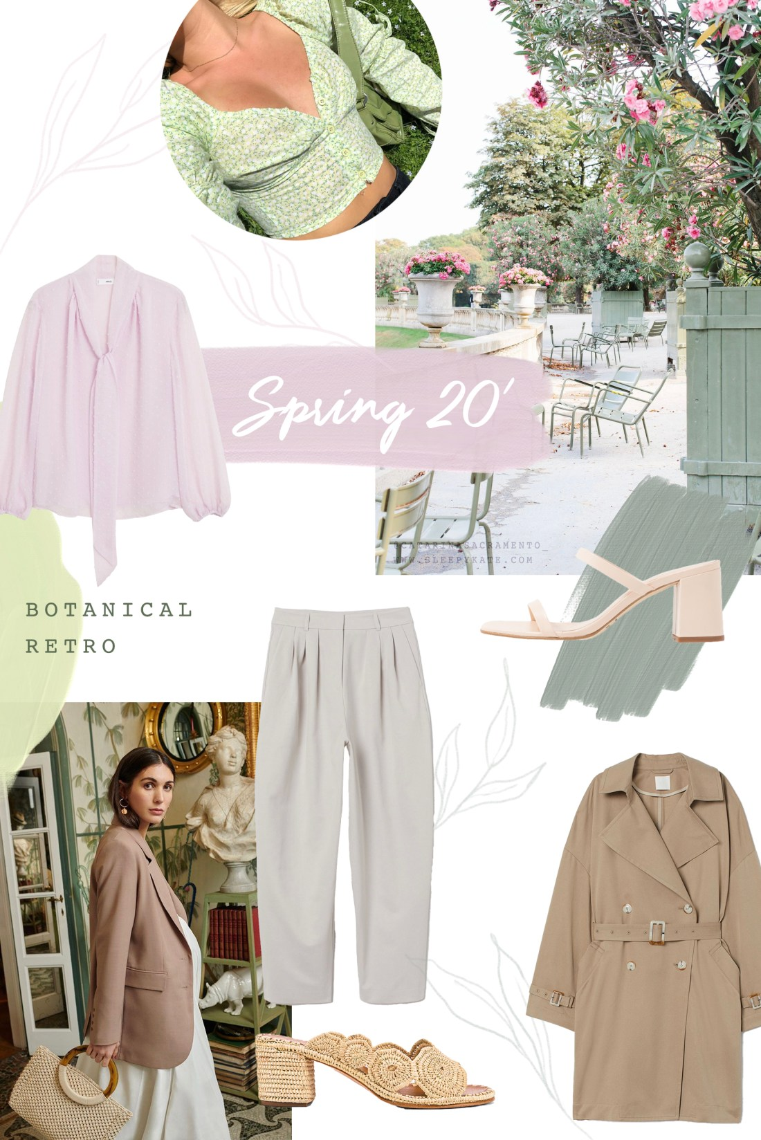 Mes inspiration mode pour le printemps 2020 - Sleepy Kate