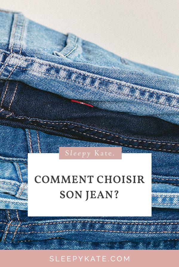 Comment choisir son jean? Quel jean pour ma morphologie? Je vous explique les éléments à prendre en compte pour trouver le bon jean! Afin d'améliorer son style vestimentaire et prendre confiance en soi! #modefemmes #jean