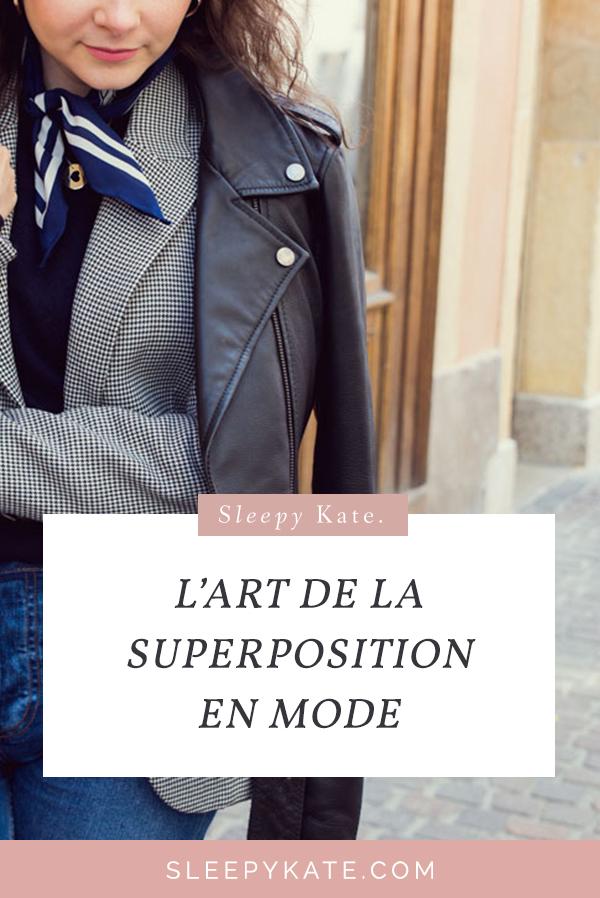 Aujourd'hui, je vous parle de l'art de la superposition en mode ou du layering! Comment superposer ses vêtements? Ces astuces vous seront utiles pour rester stylé en hiver! Gagner en style vestimentaire avec des conseils simples et faciles à mettre en place. #conseilsmode #style #modefemme