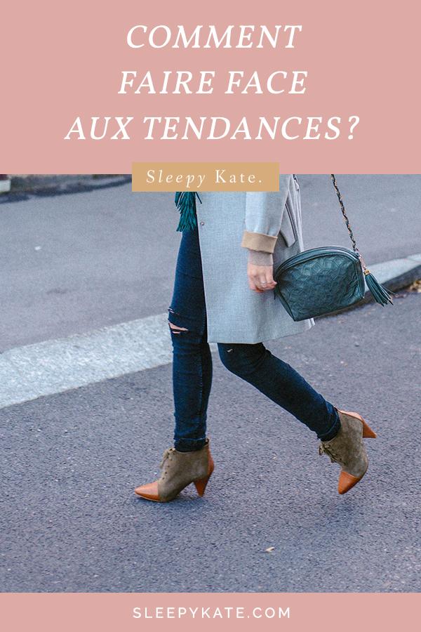 Les tendances en mode, c'est bien ou mauvais? Je vous explique comment trouver l'équilibre et faire de bon choix en ce qui concerne les tendances en mode. C'est un sujet important afin d'éviter les erreurs d'achats et de mieux consommer. Ainsi que pour trouver son style!