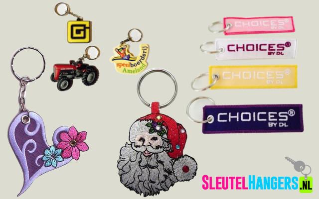 Sleutelhangers various