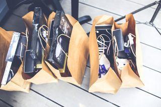 tašky na nákup