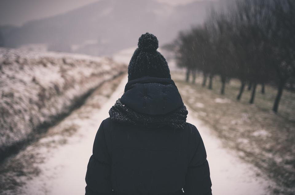 Zimní oblečení ilustrace