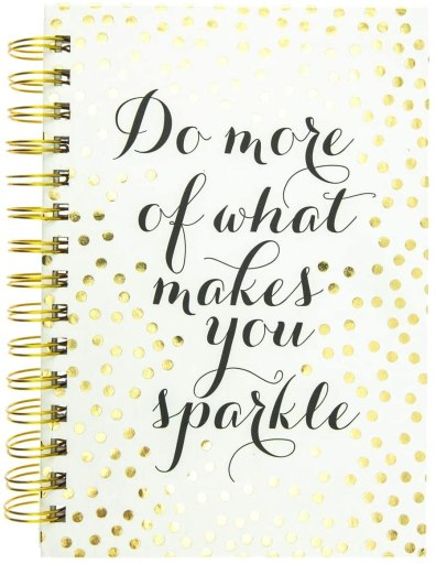 Do More of What Makes You Sparkle Notebook
