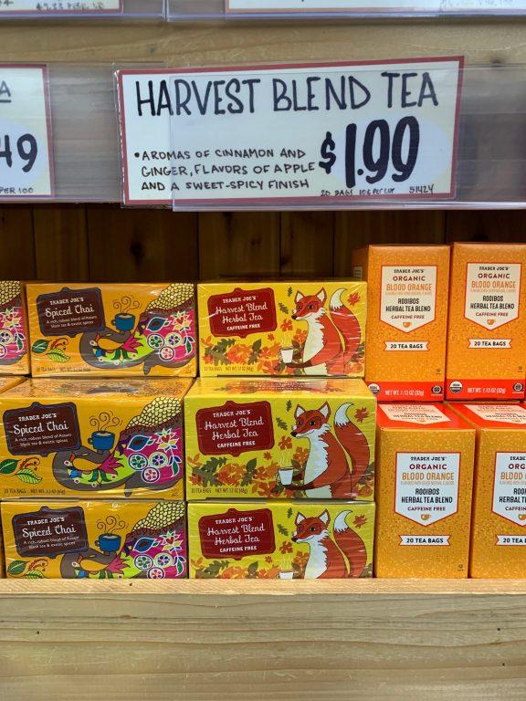 Trader Joe's Harvest Blend Tea