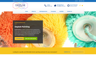 Deplok Painting - Interior Painting Company MA MetroWest - 508-969-1300