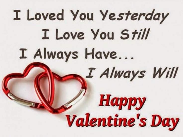 50 Cute Valentines Day Quotes Messages 1