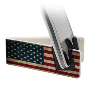 Stand per smartphone con bandiera americana