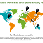 Editable World Map Powerpoint Slideegg