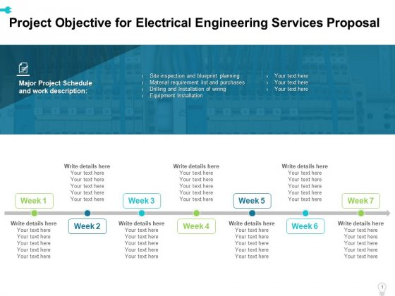 Other templates available would include those for a software configuration management plan (scmp) and a software quality. Project Objective For Electrical Engineering Services Proposal Ppt Professional Sample Pdf Powerpoint Templates