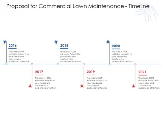 05/02/2021· manage your projects with a free maintenance schedule template in excel, google sheets, or in a gantt chart. Proposal For Commercial Lawn Maintenance Timeline Ppt Model Gridlines Pdf Powerpoint Templates