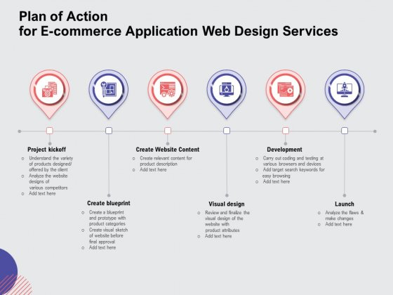 Download the google docs template phase 1: Web Design Services Proposal For Ecommerce Business Plan Of Action For E Commerce Application Web Design Services Template Pdf Powerpoint Templates