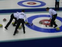 people playing Curling