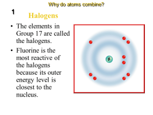 Groups and electron dot diagrams  Presentation Chemistry  SliderBase