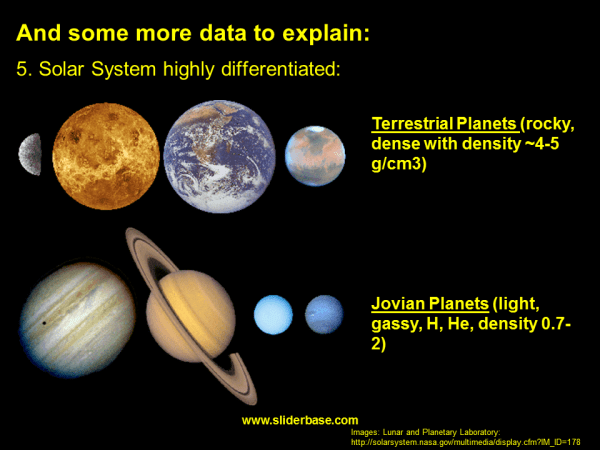 The Formation of Our Solar System - Presentation Astronomy