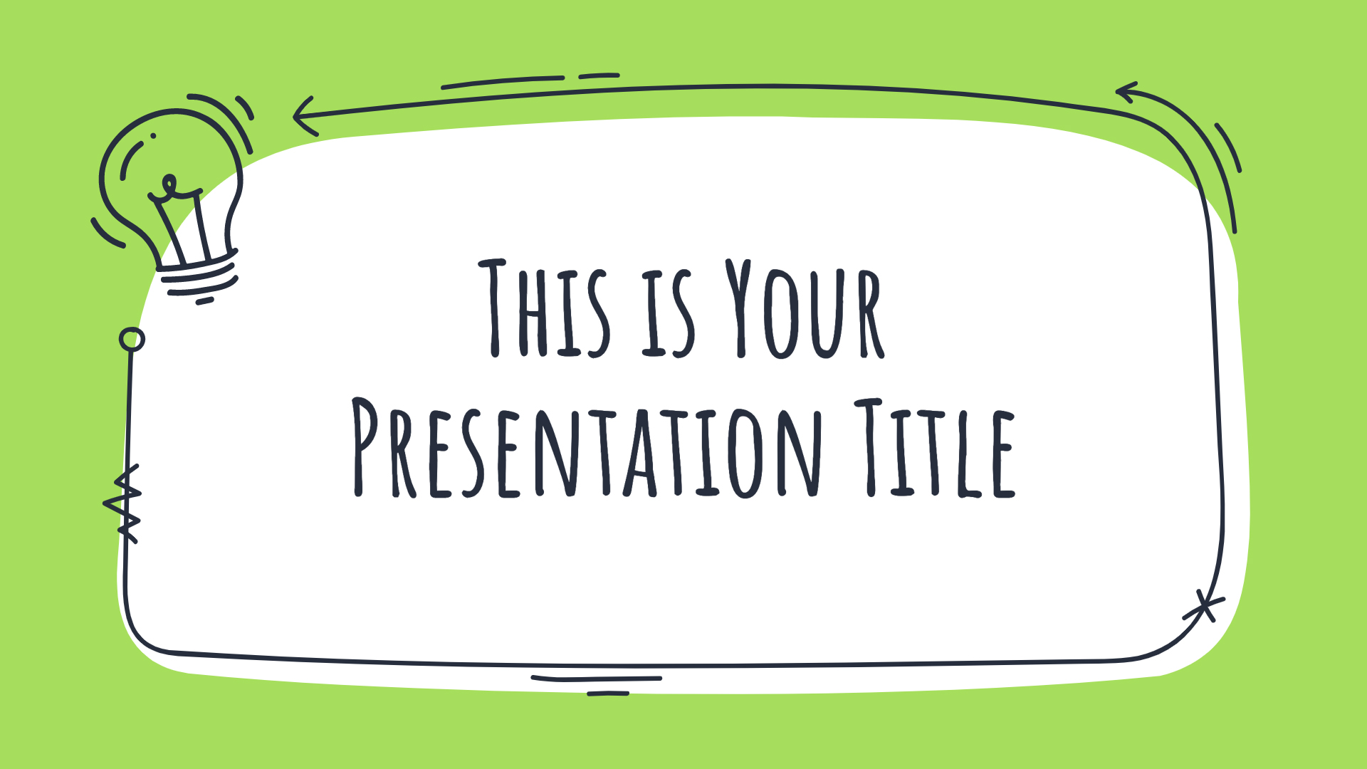 Log into your account by putting your email and password. Green Doodles Free Powerpoint Template Google Slides Theme