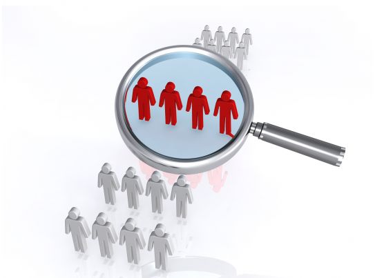 0914 Focus Group Magnifying Glass Image Graphic Stock Photo PowerPoint Presentation Pictures