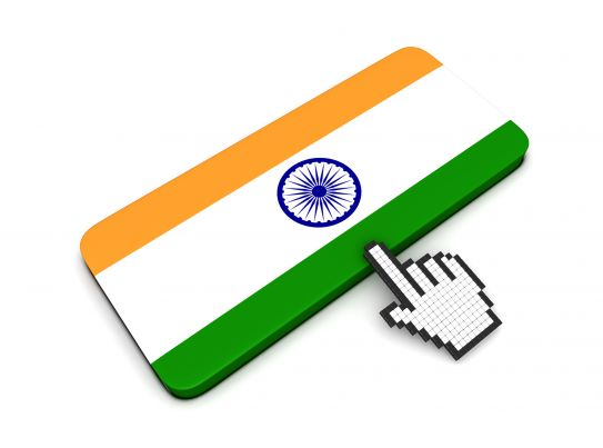 Image result for India flag computor mouse