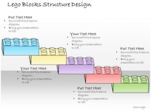 1013 Business Ppt Diagram Lego Blocks Structure Design