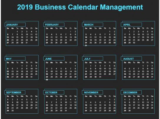 Day 1 Calendar Template
