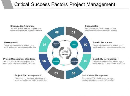 Critical Success Factors Project Management Ppt ...