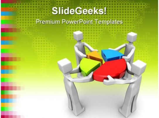 Teamwork And Performance Business PowerPoint Template 1110 PowerPoint Shapes PowerPoint