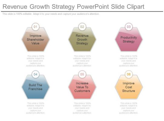 Revenue Growth Strategy Powerpoint Slide Clipart ...