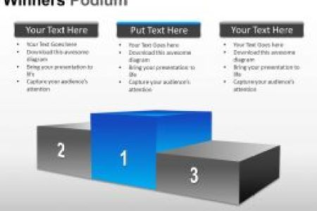How To Create Certificate Of Achievement Templates In PowerPoint     Winners Podium Powerpoint