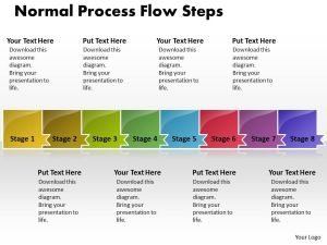 Business PowerPoint Templates normal process flow theme steps Sales PPT Slides 8 stages