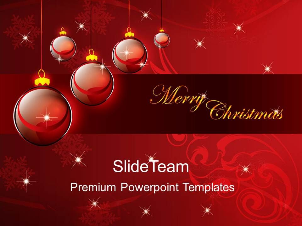 Christmas Carol Powerpoint Templates Merry Background Ppt