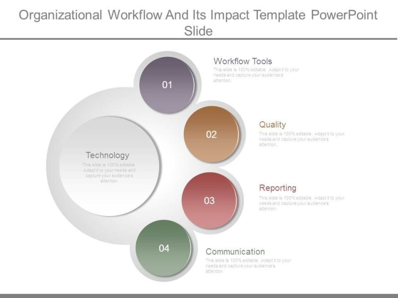 Organizational Workflow And Its Impact Template Powerpoint Slide     organizational workflow and its impact template powerpoint slide Slide01   organizational workflow and its impact template powerpoint slide Slide02