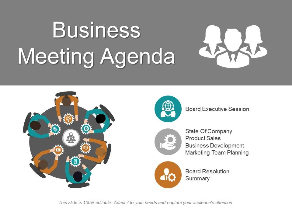 Use a meeting agenda to make sure all the important. Business Meeting Agenda Ppt Inspiration Powerpoint Slides Diagrams Themes For Ppt Presentations Graphic Ideas